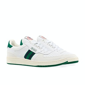 Scarpe Polo Ralph Lauren Polo Court - White Green Navy