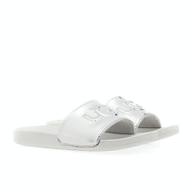 Sliders UGG Graphic - Silver