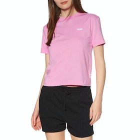 Vans Junior V Boxy Womens Short Sleeve T-Shirt - Fuchsia Pink
