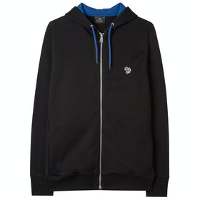 Paul Smith Classic Fit Zip Hoody - Black