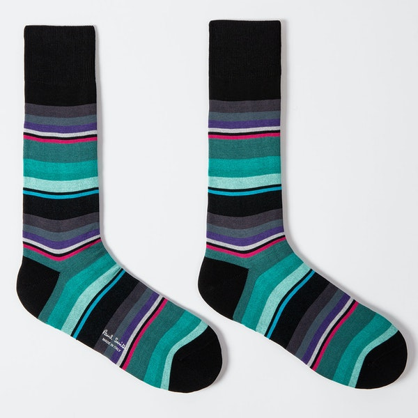 Paul Smith Ninja Stripe Fashion Socks