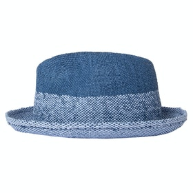 Paul Smith Trilby Two Tone Hat - Turquise