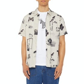 Paul Smith Casual 1 Short Sleeve Shirt - Off White