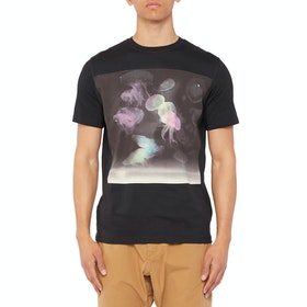Paul Smith Jellyfish Short Sleeve T-Shirt - Black