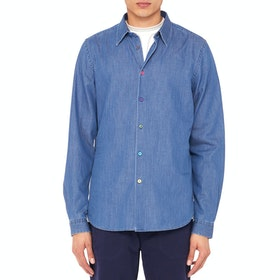 Paul Smith Tailored Shirt - Denim Wash