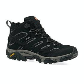 Merrell Moab 2 Mid GTX Womens Walking Boots - Black