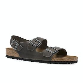 Birkenstock Milano Regular Sandals - Iron