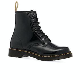 Dr Martens 1460 Vegan Womens Boots - Black Opaline