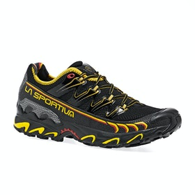 La Sportiva Ultra Raptor Trail Running Shoes - Black Yellow