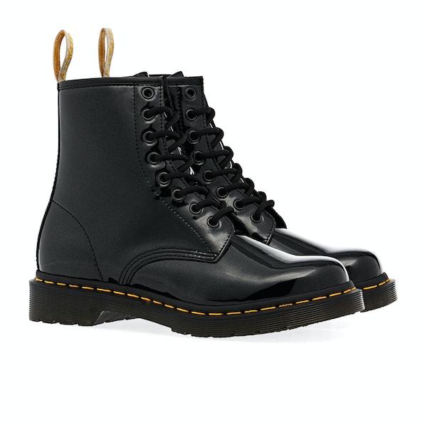 Dr Martens Vegan 1460 Patent Ankle Damen Stiefel