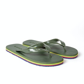 Paul Smith Dale Sandals - Olive
