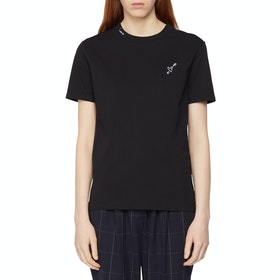 Paul Smith Printed Women's Short Sleeve T-Shirt - Black