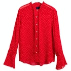 Maglietta Donna Gant French Dot Chiffon Bow Blouse
