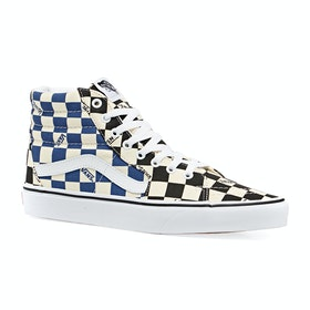 Chaussures Vans Ua Sk8-hi - Big Check Black Navy