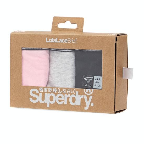 Superdry Lola Lace Brief