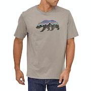 Patagonia Fitz Roy Bear Organic Kurzarm-T-Shirt