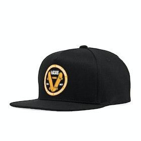 Vans Old Skool V Snapback Boys Cap - Black