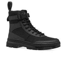Dr Martens Combs Tech Boots - Black Element & Black Poly Rip Stop Ot9286
