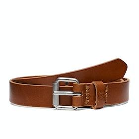 Fjallraven Singi 2.5cm Leather Belt - Leather Cognac