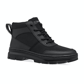 Dr Martens Bonny Tech Boots - Black Element & Black Poly Rip Stop Ot9286