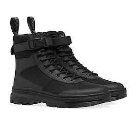 Dr Martens Combs Tech Boots - Black Element & Black Poly Rip Stop Ot9286