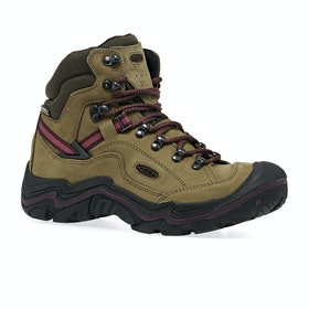 Keen Galleo Mid WP Womens Walking Boots - Dark Olive Winetasting