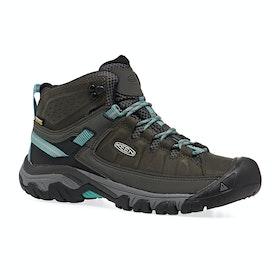 Keen Targhee III Mid WP Womens Walking Boots - Alcatraz Blue Turquoise