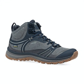 Keen Terradora Mid WP Womens Walking Boots - Blue Nights Blue Mirage