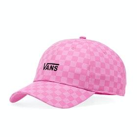 Casquette Femme Vans Court Side Printed - Fuchsia Pink Checkerboard