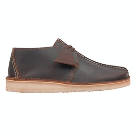 Clarks Originals Desert Trek Dress Shoes - Beeswax