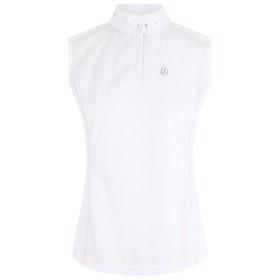 Imperial Riding Elite Star Sleeveless Ladies Competition Shirt - White
