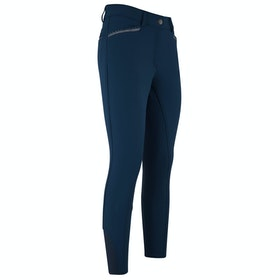 Riding Breeches Enfant Imperial Riding El Capone Silicone Full Seat - Navy