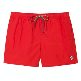 Paul Smith Zebra Men's Swim Shorts - Red