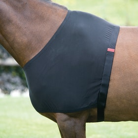 Shires Anti-Rub Stretch Shoulder Guard - Black