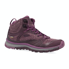 Keen Terradora Mid WP Womens Walking Boots - Wine Tasting Tulipwood