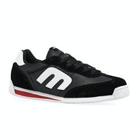 Chaussures Etnies Lo-cut Cb - Black/red/white