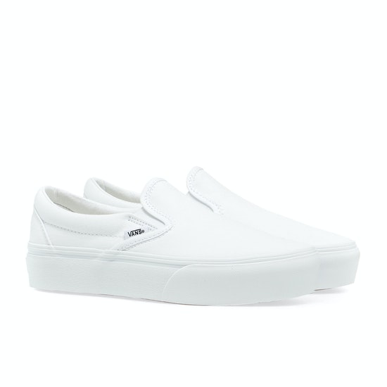 Vans Classic Platform Womens Slip On Shoes