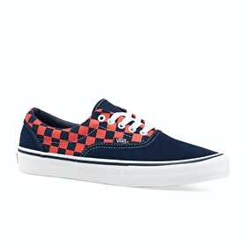 Scarpe Vans Era Pro Checkerboard - Navy Orange
