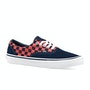 Checkerboard   Navy Orange