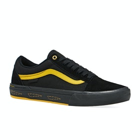 Scarpe Vans Old Skool Pro Bmx - Larry Edgar Black Yellow