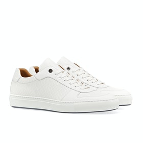 Scarpe Uomo BOSS Mirage_tee Cup Sole Trainer - White
