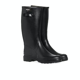 Stivali di Gomma Aigle Cessac Wellington - Noir
