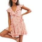 Free People French Quarter Mini Kleid
