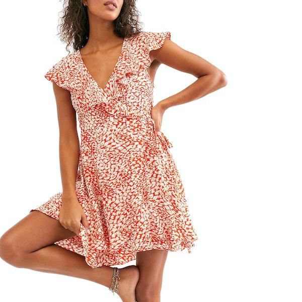 Free People French Quarter Mini Dress
