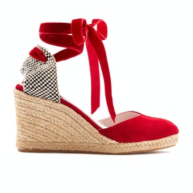 Espadrillas Donna Lulu Guinness Lupin - Red