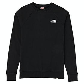 North Face Capsule Raglan Redbox Crew Pullover - TNF Black TNF White