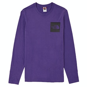 T-Shirt a Manica Lunga North Face Capsule Fine - Hero Purple