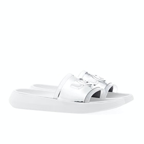 UGG Hilama Sliders - White