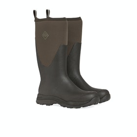 Muck Boots Arctic Outpost Tall Wellington Boots - Brown Tan