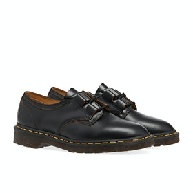 Dress Shoes Dr Martens MIE 1461 Ghillie - Black Vintage Smooth